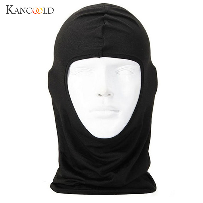 New Classic Lycra Face Mask Windbreak Protection Full Face Lycra Balaclava Headwear Neck  Balaclava Helmet Jan18
