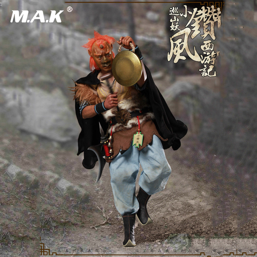 Collectible Full Set Figure 1/6 Chinese Mythology Series Journey to the West Patrol Xiaozuanfeng Action Figure for GiftCollectible Full Set Figure 1/6 Chinese Mythology Series Journey to the West Patrol Xiaozuanfeng Action Figure for Gift