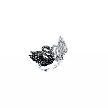test only not for sale)SWAROVSKI Double Swan ring on Aliexpress.com ... a053009ec