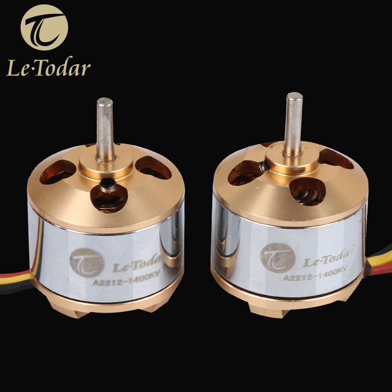 LeTodar A2212-1000KV Brushless AC Motor CW/CCW for RC Quadcopter RC Multi axis Aircraft RC Drone Accessories Spare Parts  цены