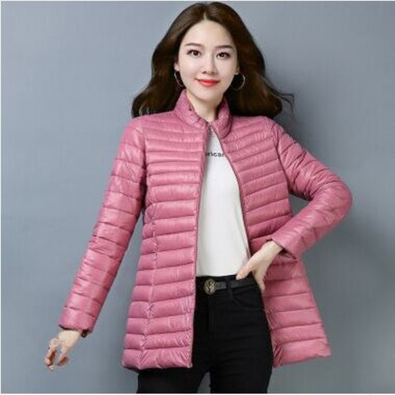 2019 winter women's thick warm   parkas   female autumn coat Outwear Basic Jacket 4 olors