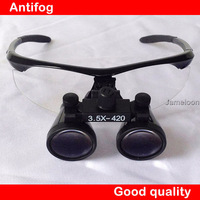 100% original 3.5X Magnification Galilean Binocular Medical Magnifier Dentistry Surgical Dental Loupes