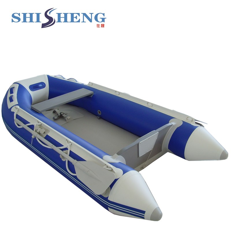 Detachable Drop Stitch Floor Inflatable Rafts For Sale / Rafting Boat Price 2017 aluminum floor inflatable folding boat 300cm army green and black for sale