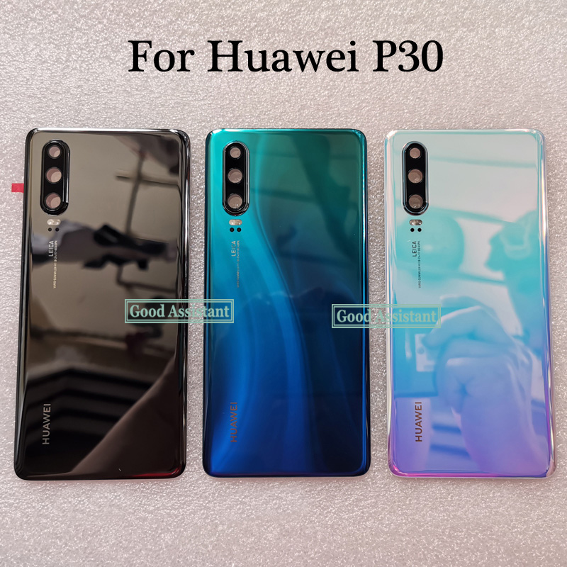 Cover Replacement Lens-Parts Door-Housing-Case Glass Back-Battery Huawei for P30/for