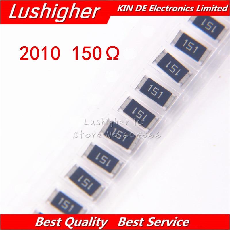 100PCS 2010 SMD Resistor 3/4W 5% 150R 150 Ohm 150ohm 151