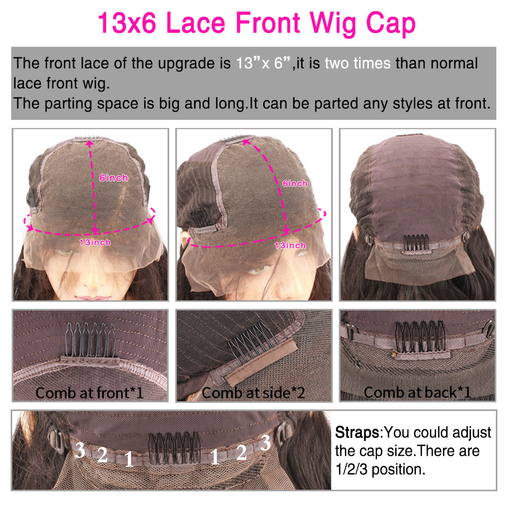 Eseewigs 180 Density 13x6 Lace Front Wigs Straight Human Hair For Black Women Brazilian Remy Hair Pre Plucked With Baby Hair