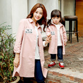 In the autumn of 2016 new Korean children embroidered children long shirt coat a thin coat of Korean children