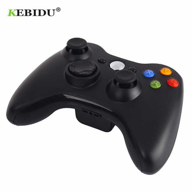 Manette de jeu KEBIDU 2.4GHz manette de jeu sans fil contrôleur Joypad pour Console Xbox 360 contrôle PC pour contrôleur de jeu XBOX360