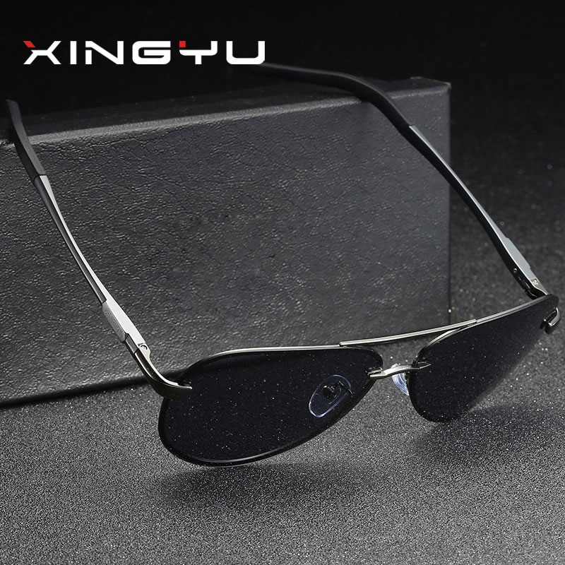 29ee8c7aa042 XINGYU Fashion Men Sunglasses Polarized 2018 New Unisex Vintage Original  Brand Eyewear Retro Polaroid Sun Glasses oculos XY007-in Sunglasses from  Men's ...