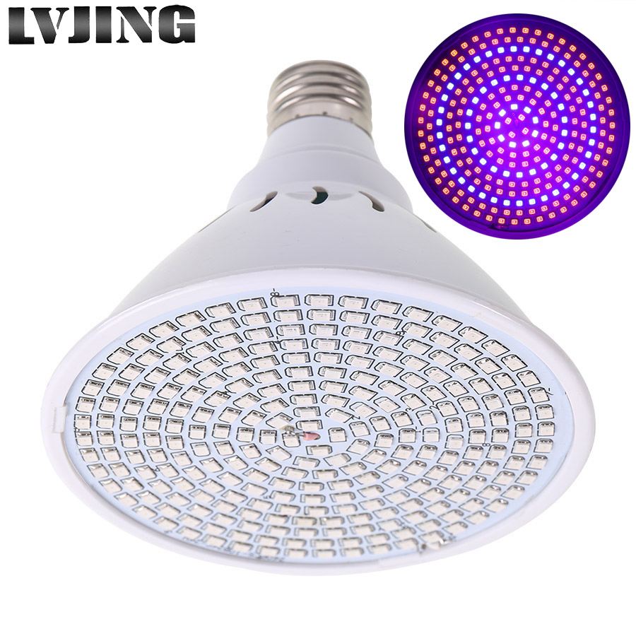 Full Spectrum LED Grow Light 26W E27 Spotlight Lamp Bulb For Flower Plant Growing Greenhouse Hydroponics System Grow Box Tent