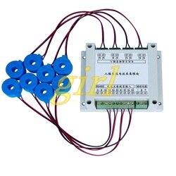 Huit module d'acquisition de courant alternatif protocole de MODBUS-RTU mesure de courant RS485