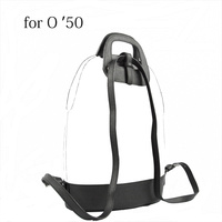 2018 D Buckle Oblong Handle Slim PU Leather Buckle Strap Bottom Backpack Kit Combination Set for Obag 50 O Bag 50