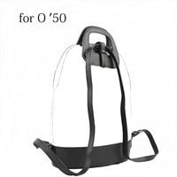 2018 D Buckle Oblong Handle Slim PU Leather Buckle Strap Bottom Backpack Kit Combination Set for Obag 50 O Bag 50