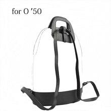 New D Buckle Oblong Handle Slim PU Leather Buckle Strap Bottom Backpack Kit Combination Set for Obag 50 O Bag 50