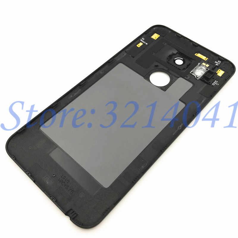 Высококачественная Задняя крышка батареи для LG Google Nexus 5X Задняя крышка батареи задняя дверь Корпус чехол запасные части