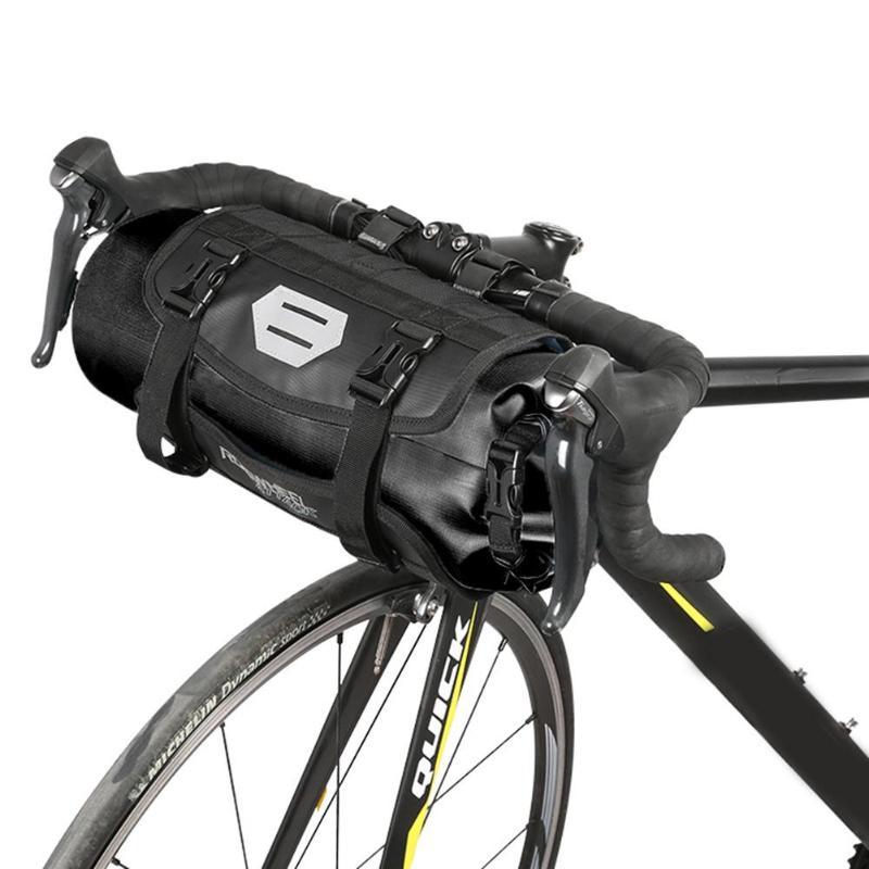 3-7L Waterproof Bicycle Front Tube Bag Mountain Bike Handlebar Basket Pack For MTB Road Bike Folding Bicycle Cycling Accessories цена
