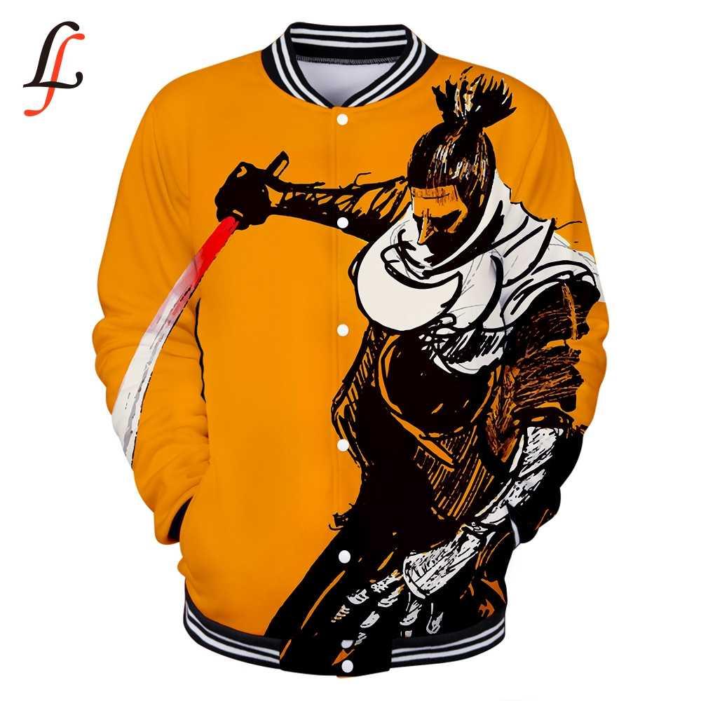 Kpop Baseball Jacket Sweatshirts SEKIRO SCHADUWEN STERVEN TWEEMAAL 3D Vrouwen/Mannen Winter Casual Truien plus size Bangtan Jongens Kleding