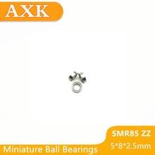 2019 Real Top Fashion Smr85zz Abec-3 (10pcs) 5x8x2.5 Mm Stainless Steel Miniature Smr85 Zz Ball Bearings Smr85-zz