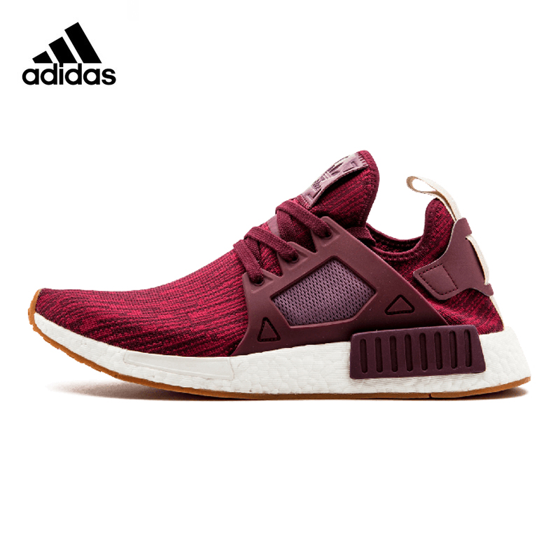 Adidas Clover NMD XR1 PK W Boost Women Running Shoes ,Outdoor Sneakers Shoes, Wine Red ,Shock Absorption BB3687 EUR Size W