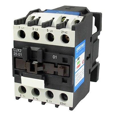 цена на CJX2-2501 AC-3 660V 40A 11KW 3 Poles 3P NC DIN Rail AC Contactor 380V Coil