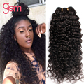 6A Rosa Hair Products Indian Curly Virgin Hair 3PCS 300g Unprocessed Indian Kinky Curly Weave Bundles Mink Deep Wave Curly Hair