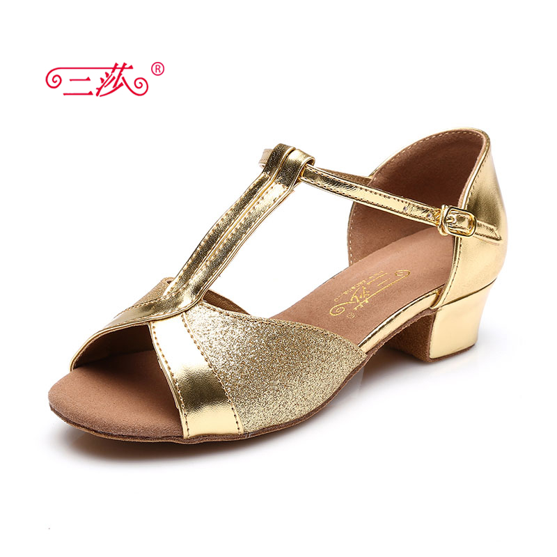 Sasha direct selling professional High Quality Latin Dance Shoes Economic Shoes Ballroom Salsa Tango dance shoes kids 112