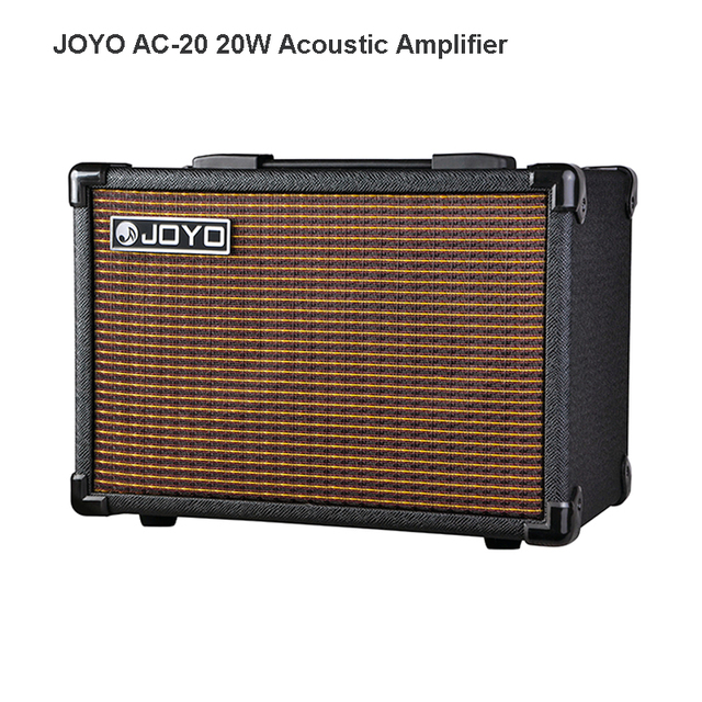 Cheap JOYO AC-20 20w Amplifier for Acoustic Guitar 3 built-in digital effects of Chorus, Delay and Reverb Volume Control AMP Free Ship