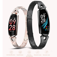 2019 New Women Smart Watch Sports Bracelet Heart Rate Monitor Blood Pressure Band Fitness Tracker Female Lady