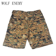 Men's Camouflage Shorts Summer Sport Cotton Mens Military Fight Camo Cargo Hiking Shorts Pants Man Clothing Plus(China)