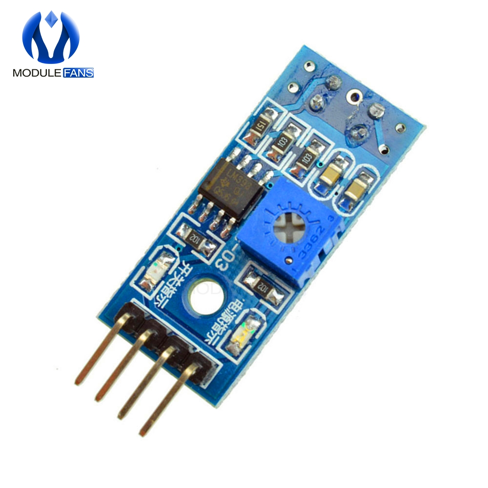 US $2 4 14% OFF|10PCS TCRT5000 Infrared Reflective Sensor IR Photoelectric  Switch Barrier Line Track Module For Arduino Diode Triode Board 3 3v-in