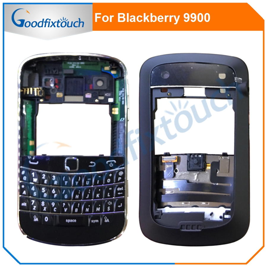 For Blackberry bold 9900 Original Housing Battery Door Back Cover Case With Keypad Keyboard Replacement Parts