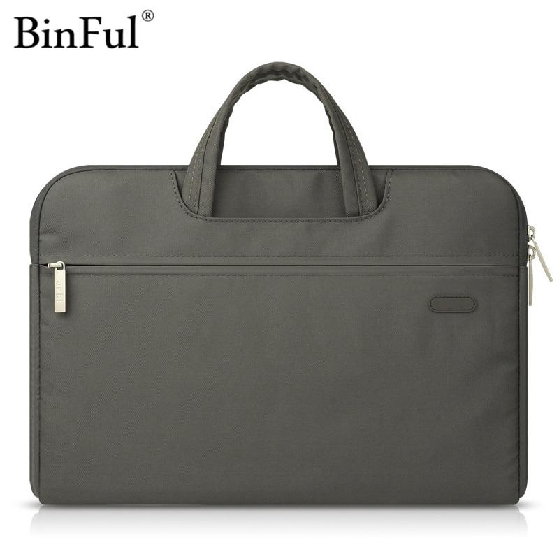 Binful Laptop Bag Case for MacBook Air Pro 11.6 12 13.3 15.4 Waterproof Notebook