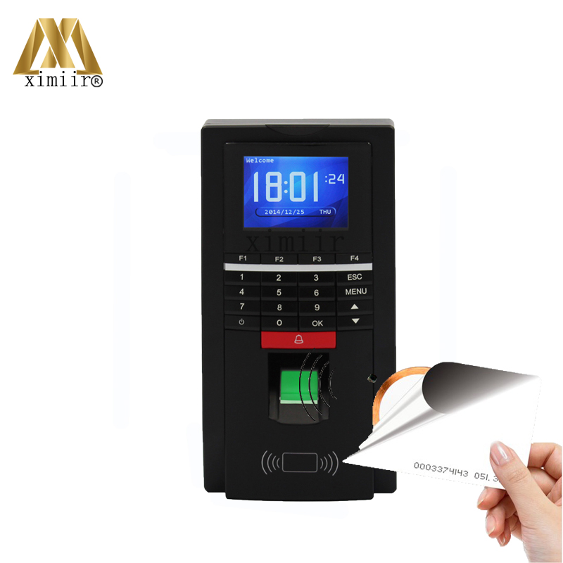 High Speed TCP/IP Fingerprint Access Control Fingerprint Reader With keypad F20 Fingerprint And 125KHZ RFID Card Access Control