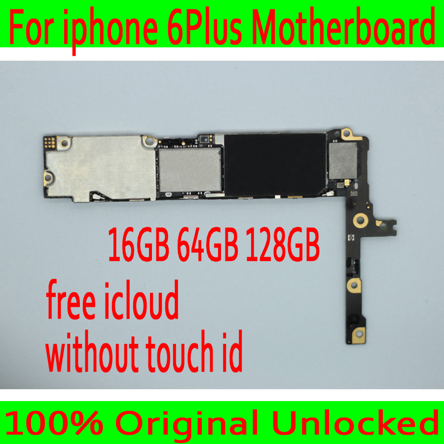 Free iCloud for iphone 6 Plus 5.5inch Motherboard without Touch ID,100% Original unlocked for iphone 6P Mainboard Good Tested-in Mobile Phone Antenna from Cellphones & Telecommunications    1