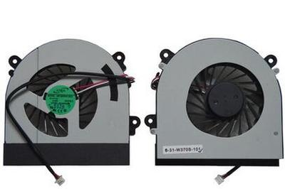 New original Cooling Fan For CLEVO W150 W150ER W350 W370ET K590S K660E CPU Cooling Fan AB7905HX-DE3 LAPTOP Cooler Radiator купить недорого в Москве