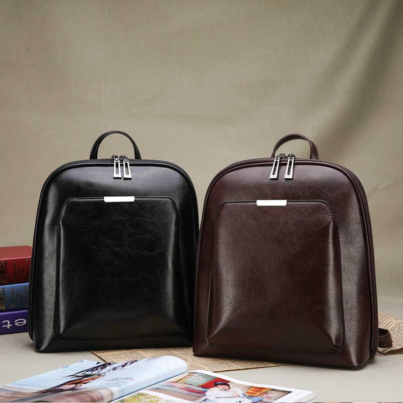 2018 женский рюкзак высокого качества из искусственной кожи модные рюкзаки женские повседневные большие вместительные винтажные сумки на плечо
