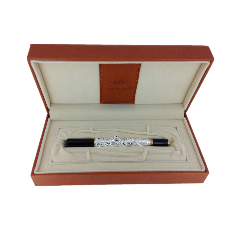Jinhao Chinese Dragon Antique Ballpoint Pen with Original Box for Gift Free Shipping green jinhao new arrival ballpoint pen