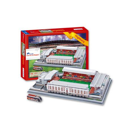 Model Building Toys & Hobbies Supply Candice Guo 3d Puzzle Diy Toy Paper Building Model Highbury Stadium Football Soccer Assemble Game Hand Work Birthday Gift 1set Aromatic Flavor