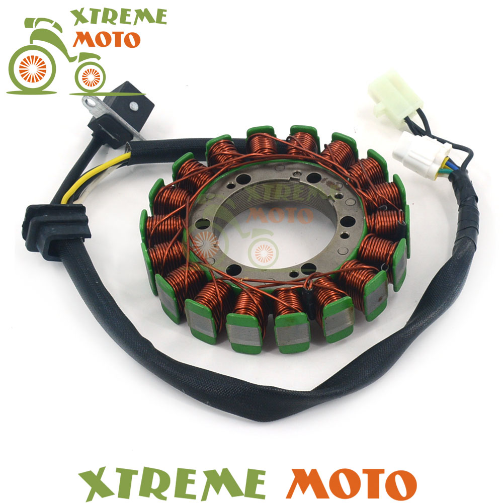 magneto engine stator generator charging coil copper wires for arctic cat atv 375 automatic transmission 2x4 400 fis tbx trv vp [ 1000 x 1000 Pixel ]