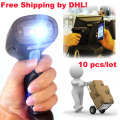 Free Ship by DHL!10 PCS/Lot 2D QR Wired Handheld USB laser Barcode Reader Scanner For Mobile Payment Computer Screen Scanner