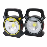 4 Modes COB LED USB Rechargeable Work Light Work Lamp Portable Camping Lanterns Mobile Power Bank