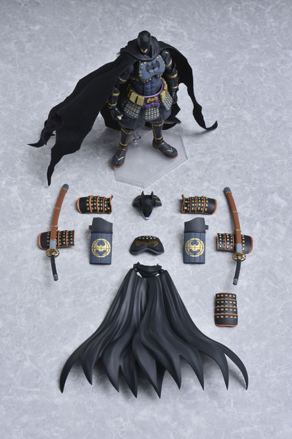 100% Original Good Smile Company Action Figure Series No.EX-053 - Batman Ninja DX Sengoku Edition