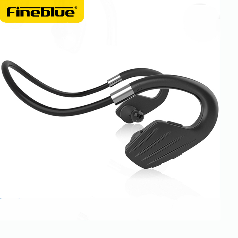 FINEBLUE M1Bluetooth earphones Wireless sport runing Neckband Stereo Earbuds with MIC Wireless Earphones for phones