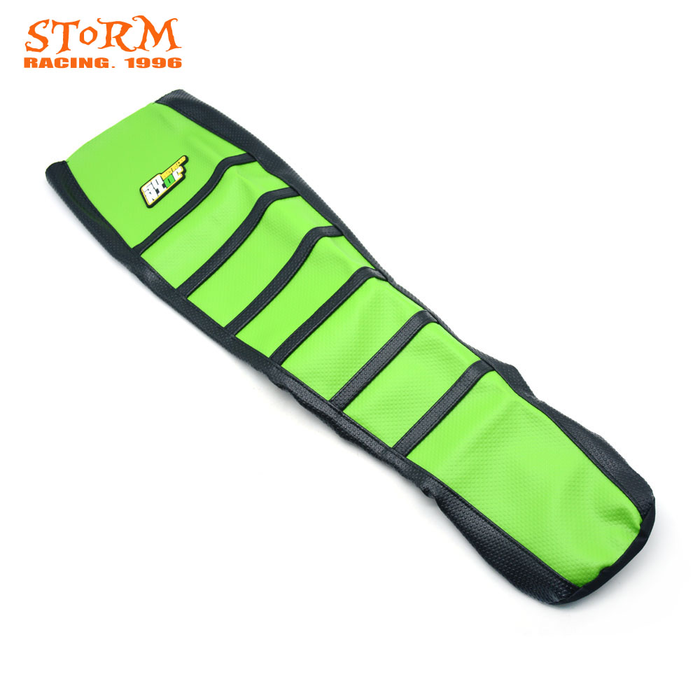 Soft Gripper Rubber Seat Cover For KAWASAKI KLX250 KLX300 KLX 250 KLX 300 1994-2007 94 95 96 97 98 99 00 01 02 03 04 05 06 07 for kawasaki kle500 1991 2007 foldable extendable brake levers folding kle 500 92 93 94 95 96 97 98 99 00 01 02 03 04 05 2006