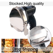ITOP Stainless Steel Kebab Slicers Shawarma Machine Kitchen Knives Cutter Machine for SHAWARMA KEBAB Makers Cleaver