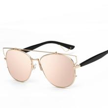 Fashion high Quality Half Metal Sunglasses Men Women Brand Designer Glasses Mirror Sun Glasses Gafas Oculos De Sol UV400 Classic