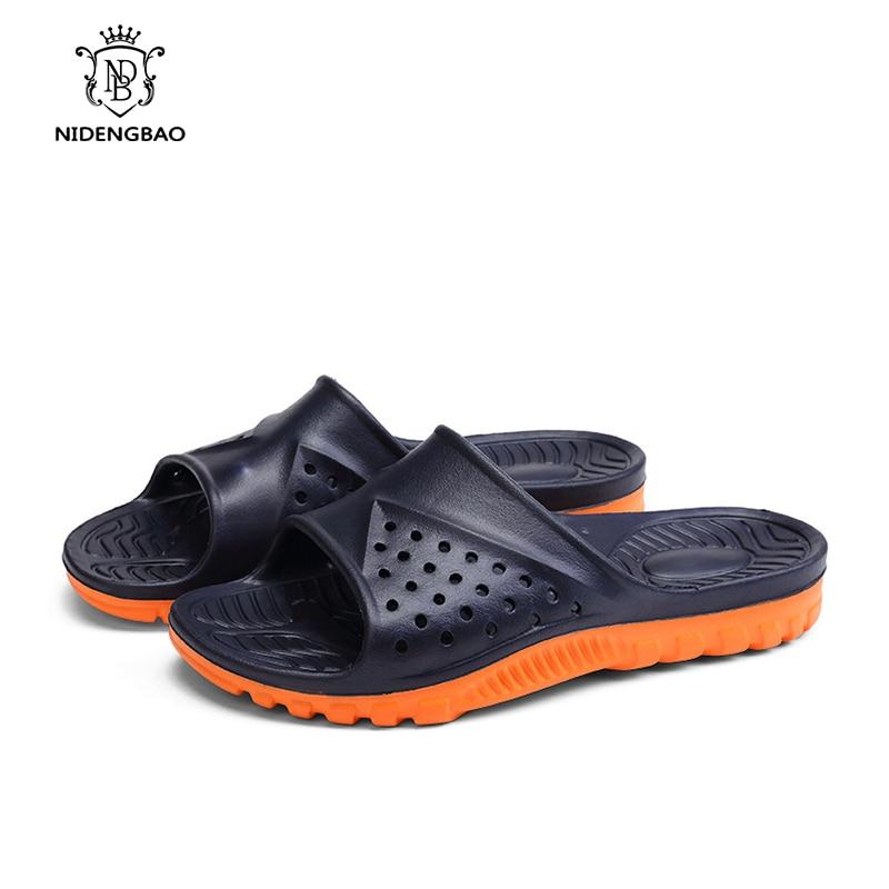 Flops Respirant Orange gray Mode Flip Black Les Dehors 2018 Gray Pour Plage Sandales Hommes Unisexe Eva Orange black Pantoufles Hot New D'été De Creusent BnxFZq7A1