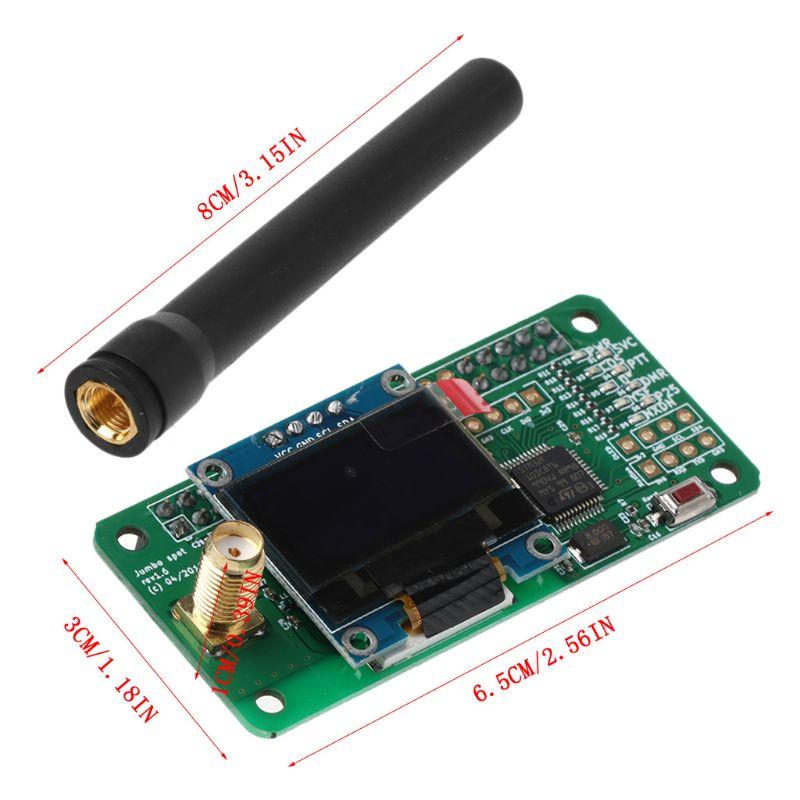 Support de Hotspot MMDVM P25 DMR YSF NXDN pour Raspberry Pi + OLED + Module de Hotspot d'antenne - 6