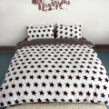 Black And White Printing Activity Bedding sets Super King Queen,Star Duvet Quilt cover set,Bedroom Bedding,Home Textiles#ZY15