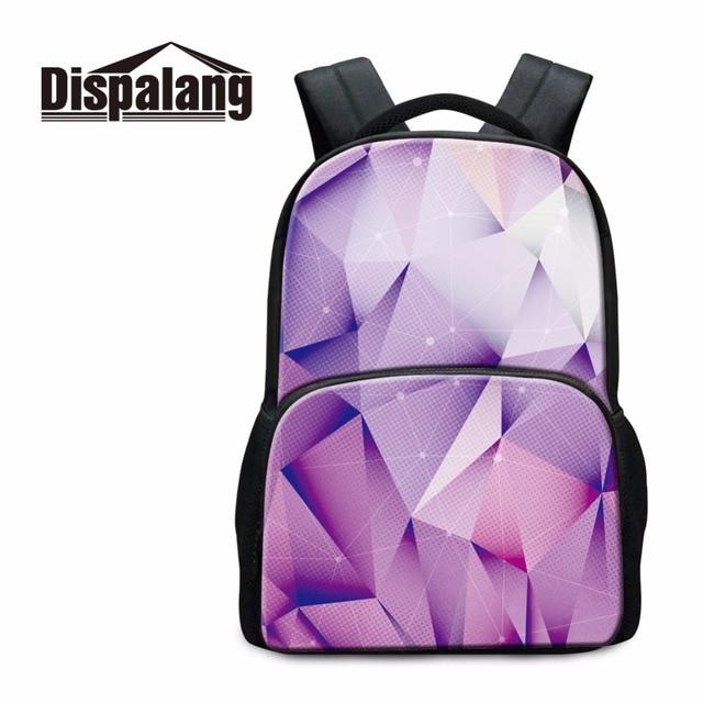 Dispalang New Design Laptop Backpacks For Girls Women s Travel Shoulder Bag  Children Cotton Bookbags Custom Made School Bag 5da440aa4ec4d